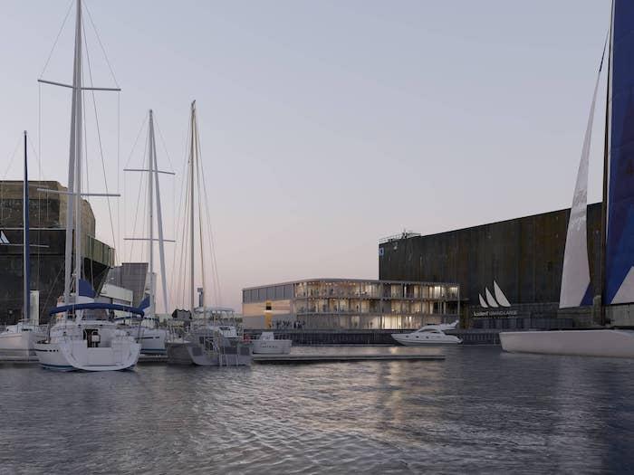 Bohuon Bertic  l  Maison des skippers  l  Lorient