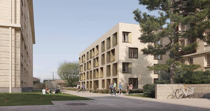 Jumeau Architectes  l CROUS l  Montpellier