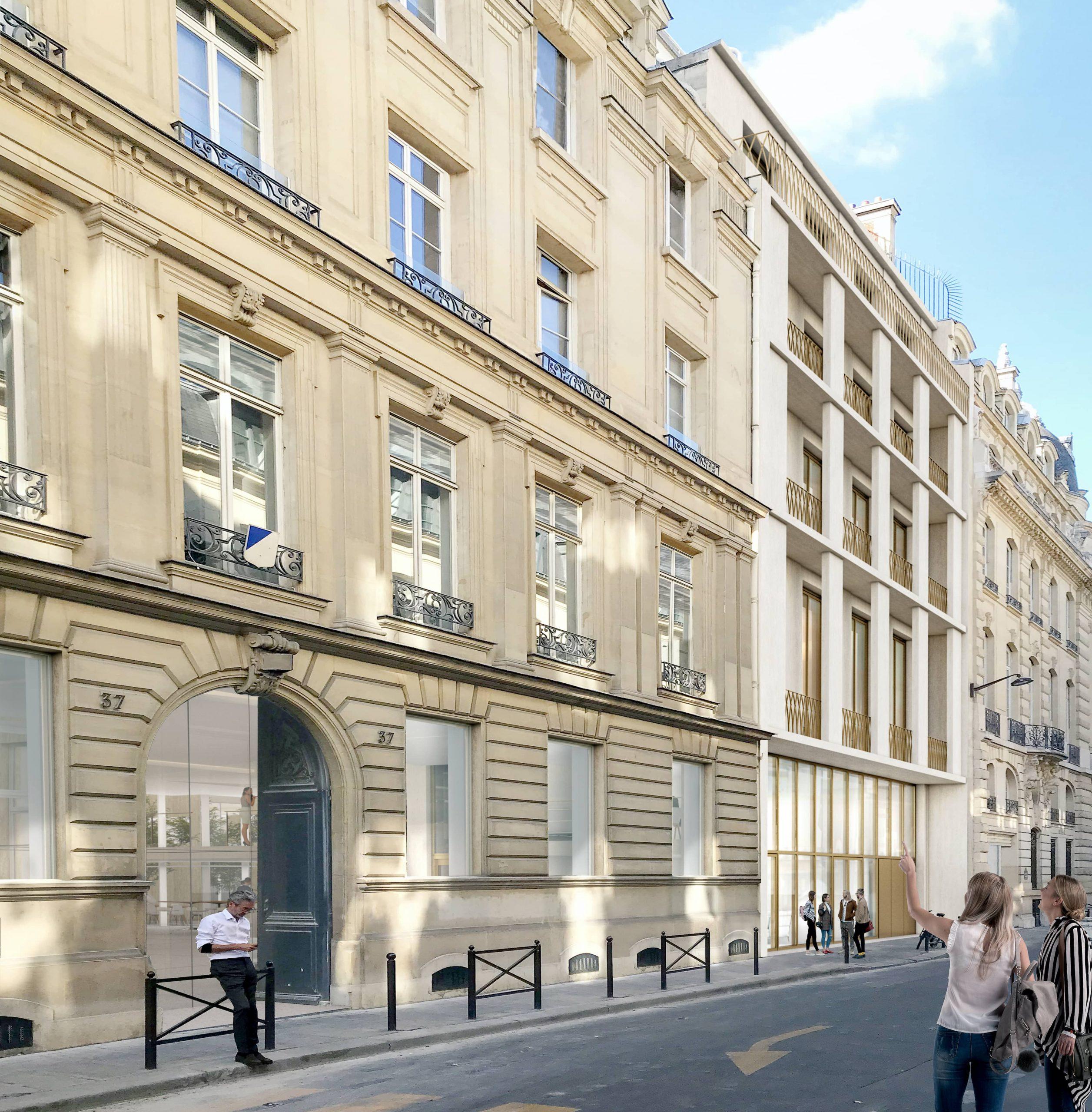 CHAIX ET MOREL l Bureaux l Paris inui