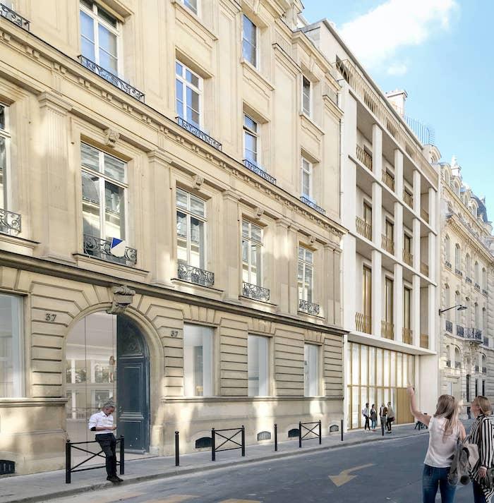 CHAIX ET MOREL l Bureaux l Paris