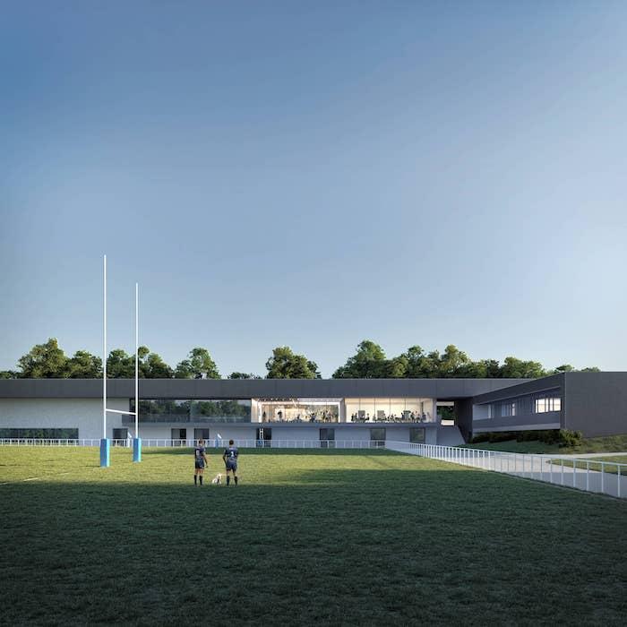 STUDIO 02 l Rugby club l Vannes